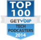 Top 100 Tech Podcasters of 2014 Award
